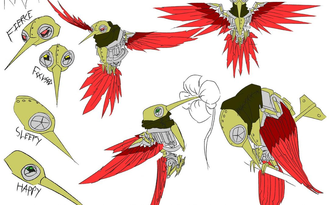 Clockwork Bird Design