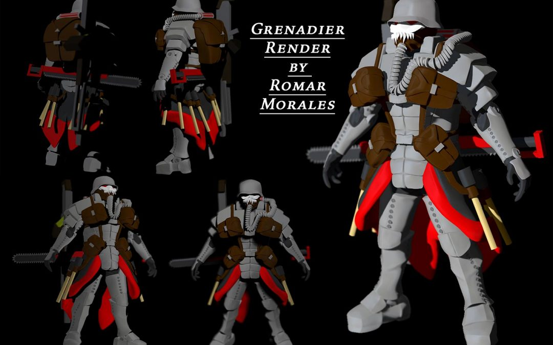 Grenadier Render